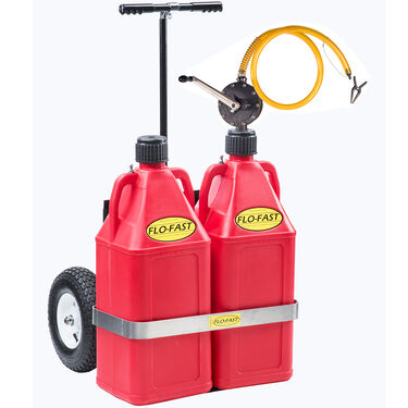 Flo-Fast Portable 21-Gallon Gasoline Transfer System