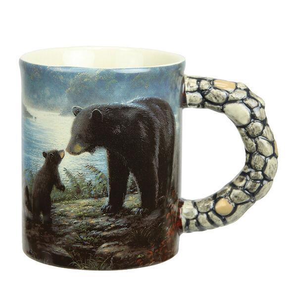 River's Edge Bears Scene 3D Ceramic Mug