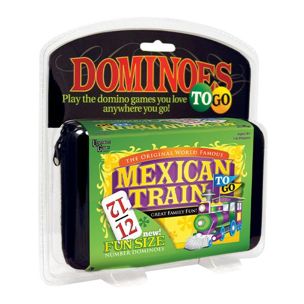 Mexican Train To Go Dominoes