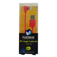 FuseBox 90° Angle Lightning Cable, 4 Ft.