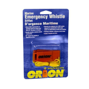 Orion Marine Emergency Whistles, 2-Pack