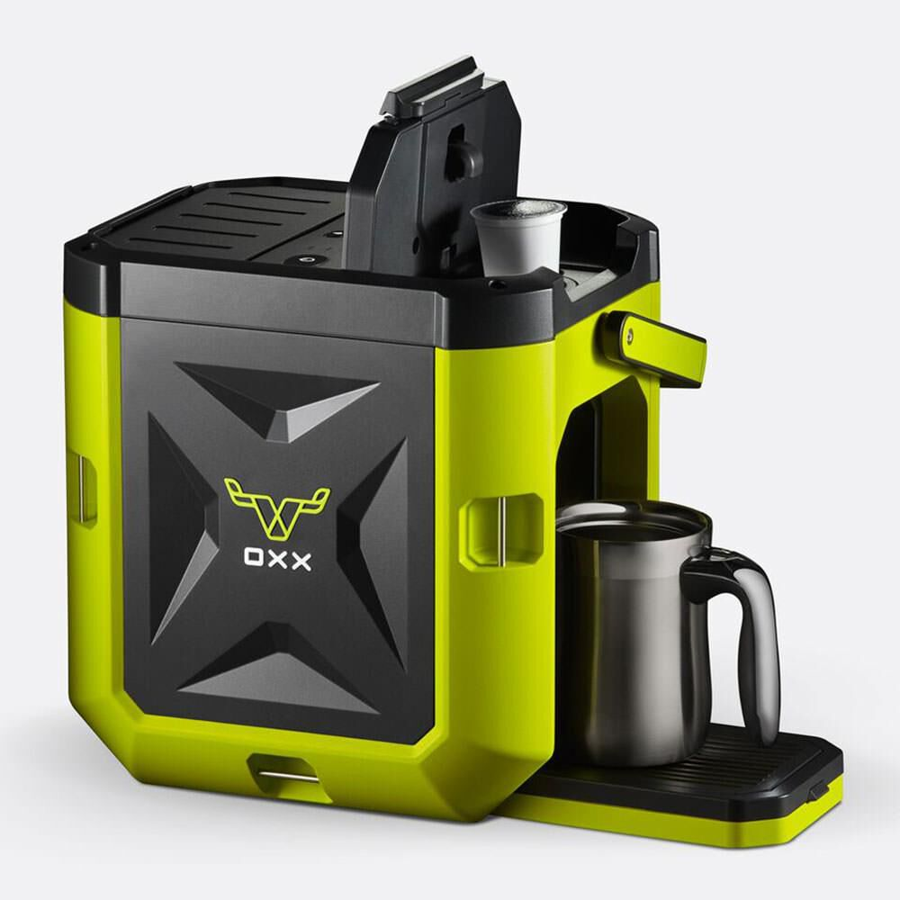 Coffeeboxx Single Serve Camping Coffee Maker In Green Camping World