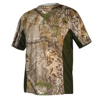 Habit Men's Performance Short-Sleeve Tee - Camo with Side Inserts
