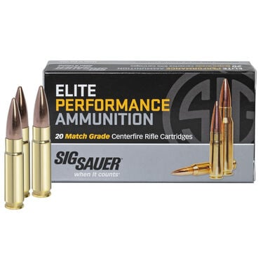 SIG Sauer Elite Performance Match Ammo, .300 AAC Blackout, 220-gr., Subsonic