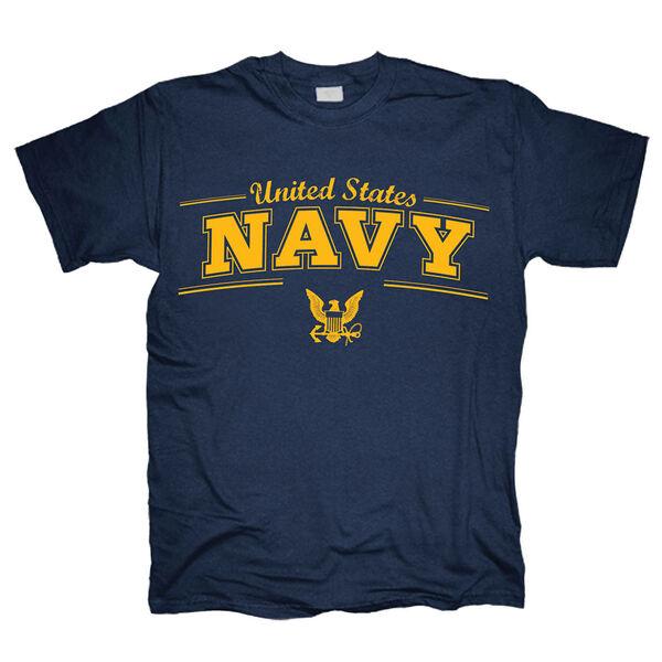 United States Navy Men's Short-Sleeve Logo Tee