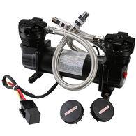 Bulldog Winch 200 PSI Double-Cylinder On-Board Compressor, 4.2 CFM