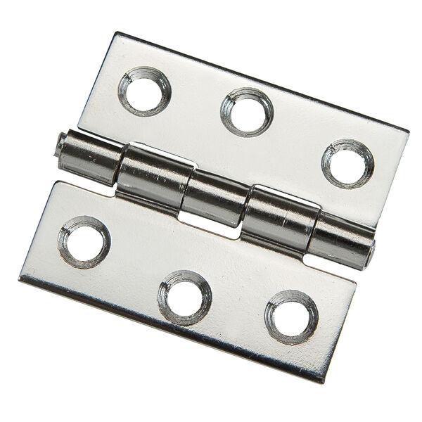 "Whitecap Stainless Steel Butt Hinge, 1-1/2"" x 1-1/4"""