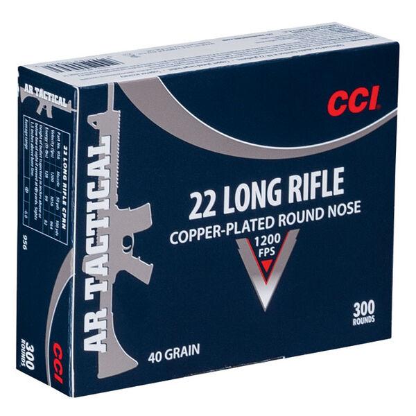 CCI AR Tactical Ammo, .22 LR, 40-gr., CPRN