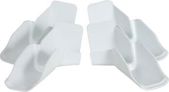 RV Gutter Spouts with Extensions, 4pk