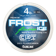 Clam Pro Tackle Frost Ice Fluorocarbon Line, 50 Yards