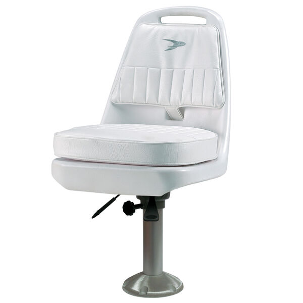 Wise Standard Pilot Chair With Fixed Pedestal, Slide Mounting Plate