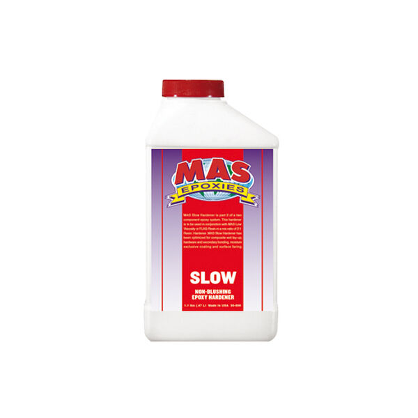 MAS Epoxies Slow Hardener, Pint