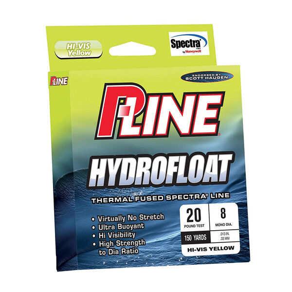 P-Line Hydrofloat Thermal Fused Spectra Line, 150 yds.