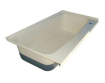 RV Bath TUB Right Hand Drain TU600RH - Polar White