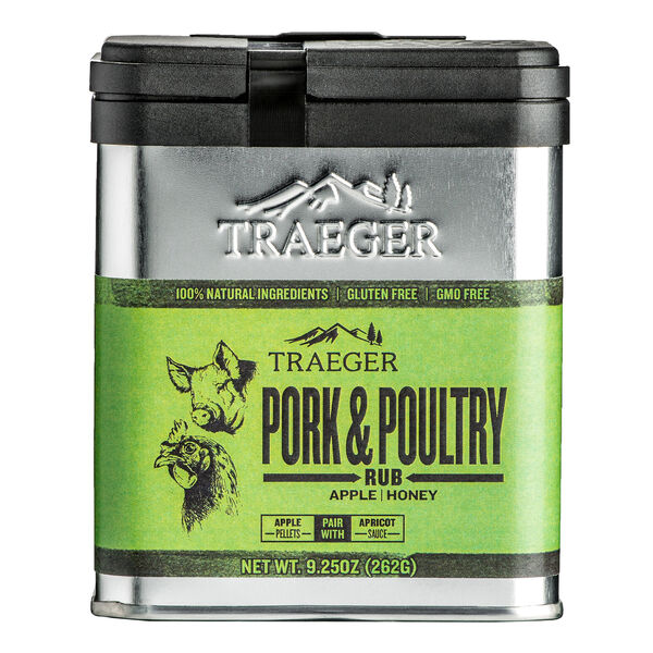 Traeger Pork & Poultry Rub, 9.25 oz.