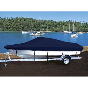 Hot Shot Coated Polyester Boat Cover '06 Maurell 23 Sunset Bay Cruz/Fish w/Bimin