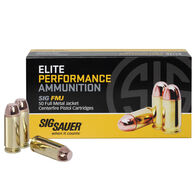 SIG Sauer Elite Performance FMJ Ammo, 9mm, 115-gr.
