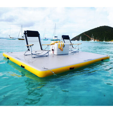 """Solstice Inflatable Floating Dock, 10' x 8' x 6"""""""