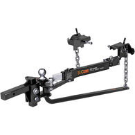 """CURT MV Round Bar Weight Distribution Hitch with Sway Control, 10,000 lbs, 2"""" Shank, 2-5/16"""" Ball"""