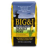 Big & J Deadly Dust Deer Attractant, 15 lbs.