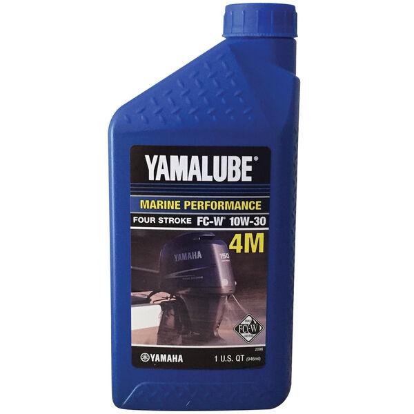 Yamaha Yamalube 4M 4-Stroke Outboard Engine Oil, Quart
