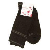 Bright Star Women's Striped Wool-Blend Sock