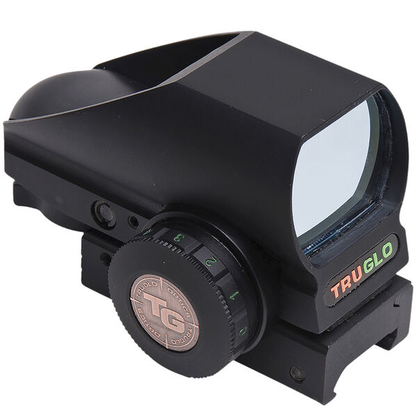 TRUGLO Tru-Brite Dual Color Multi-Reticle Open Red Dot Sight