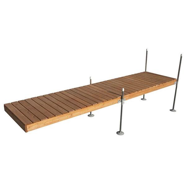 Tommy Docks 16' Straight Cedar Complete Dock Package