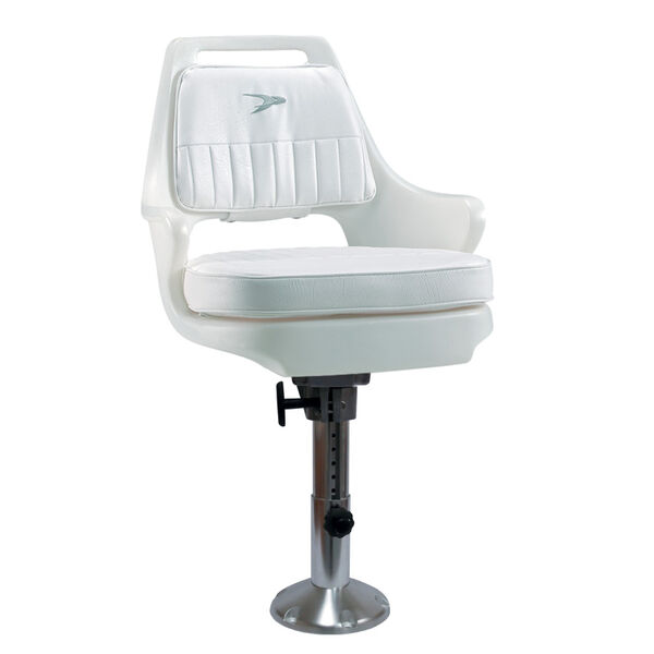 Wise Pilot Chair With Adjustable Pedestal, Spider Mounting Plate
