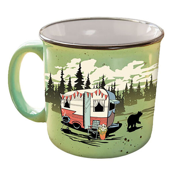 Camp Casual Mug, Green