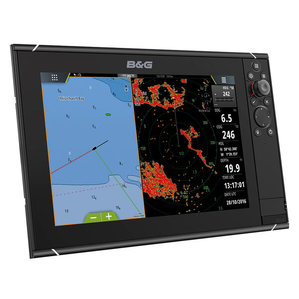 "B&G Zeus 3 12"" Multifunction Display With Insight Charts"
