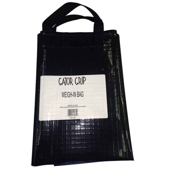 Gator Grip Weigh-In Bag, Black