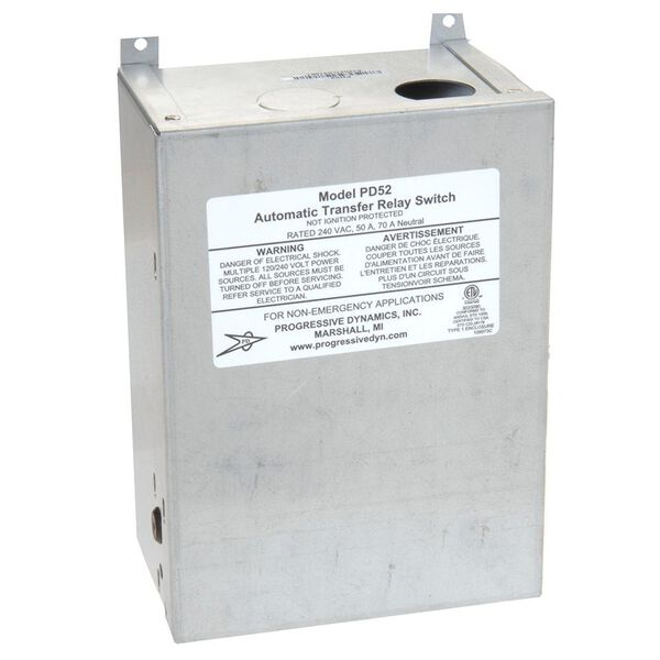 50 Amp Surge Protected Transfer Switch