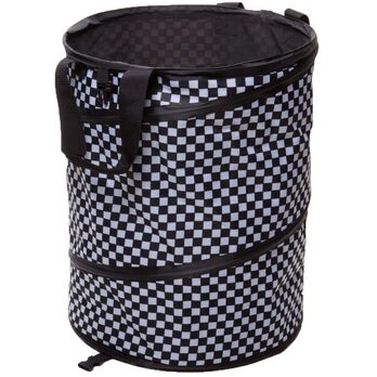 Checkered Flag Collapsible Container