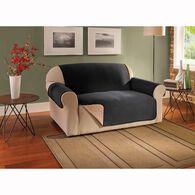 Sofa-Size Furniture Protector, Black & Tan