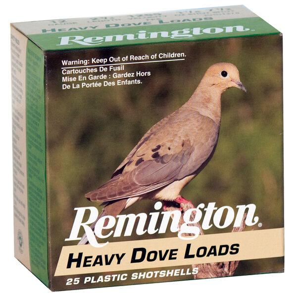 "Remington Heavy Dove Ammo, 12-ga., 2-3/4"", 1-1/8 oz."
