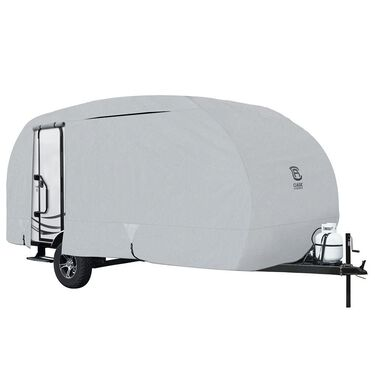"Classic Accessories PermaPro Heavy Duty RV Cover, Class B, 23'-25'L, 117"" Max H"