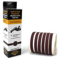 Work Sharp WSKTS P220 Grit Ceramic Oxide Belt Accessory Kit, 6-Pack