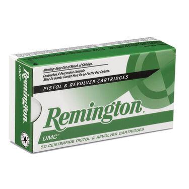 Remington UMC Handgun Ammunition, 9mm Luger, 115-gr., FMJ, 50 Rounds