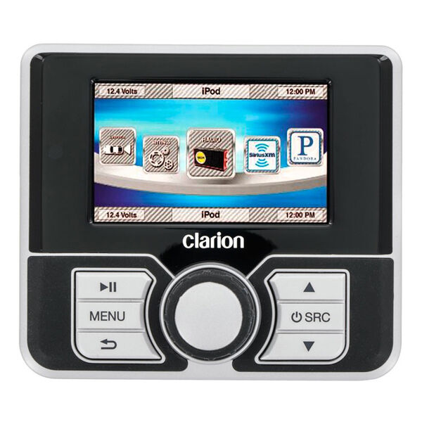 """Clarion MW4 Watertight Wired Remote With 2.8"""" Color LCD"""