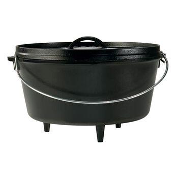 Lodge Cast Iron 8 qt. Camp Deep Dutch Oven