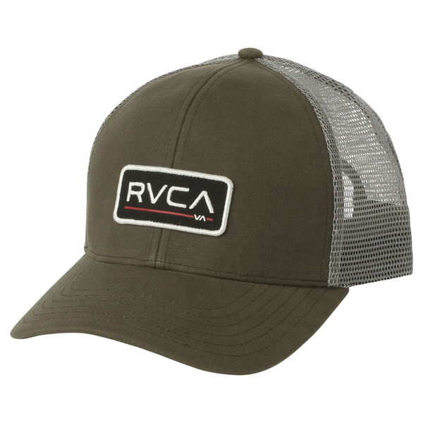 RVCA Men's Ticket Trucker II Snapback Cap