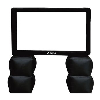"""Sima 72"""" Inflatable Portable Theater Screen"""