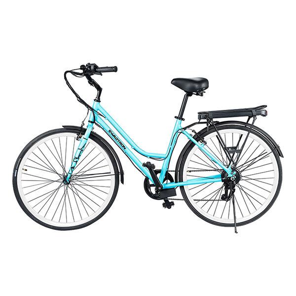 Swagtron EB-9 E-Bike, Aqua