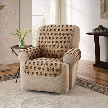 """Paw Print Furniture Protector, Recliner, Seat Width- 23"""""""