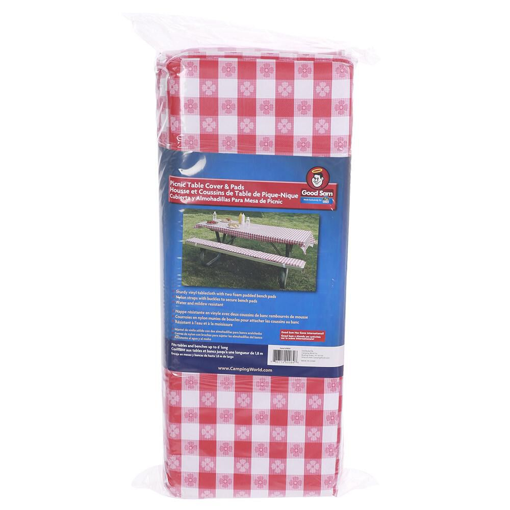 Good Sam Table Cover Padded Bench Cushion Camping World
