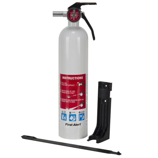 First Alert Marine Rechargeable Fire Extinguisher, 1-A:10-B:C