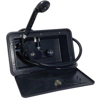 Exterior Shower Kit, Black