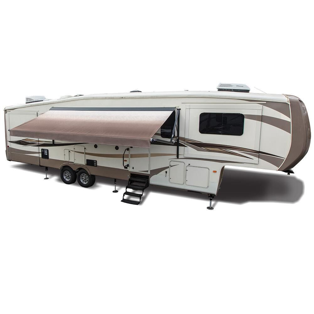Dometic 9100 Power Patio Awning, Vinyl Linen Fade ...