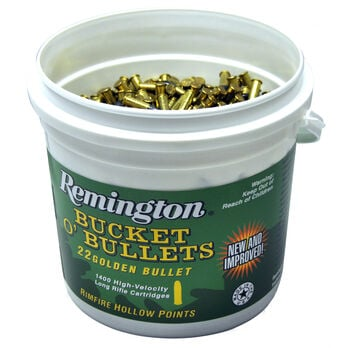 Remington Bucket O' Bullets, .22 LR, 1400 Rounds